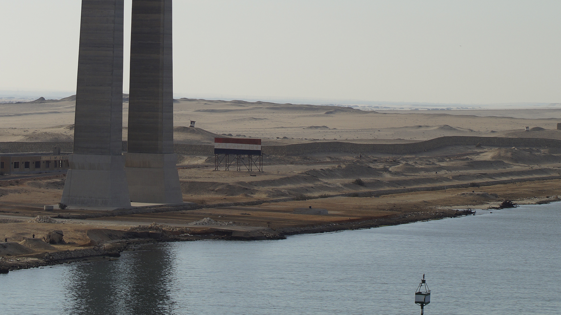 Suez Canal remain blocked for eight years